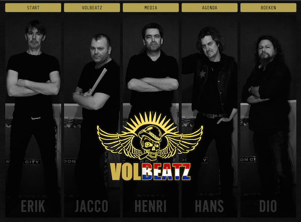 Tribute band Volbeatz