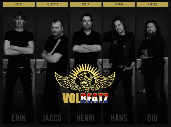 Tribute band Volbeatz